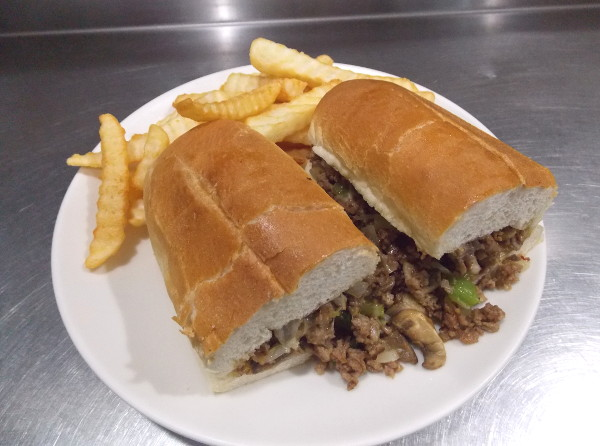 western steak sub and fries